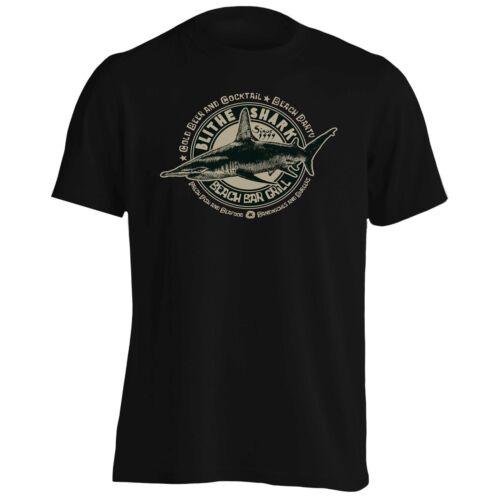 Blithe Shark Beach Bar Grill Tee-Shirt Homme//Tank Top aa394m