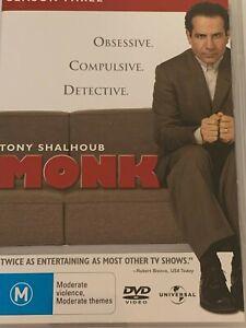 Monk-Complete-Season-Three-DVD-Like-New