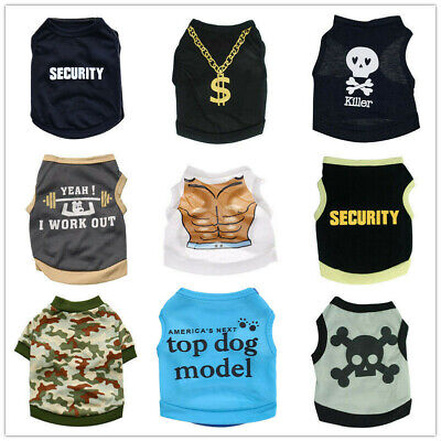 Alroman Dogs Shirts Orange Vest Clothing for Dogs Cats XS Dog Vacation Shirt Male Female Dog Clothing Puppy Summer Clothes Girls Boys Cotton Summer Shirt Small Dog Cat Pet Clothes Vest T-shirt Apparel