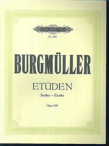 Burgmueller-034-Etueden-fuer-Klavier-034-Op-109