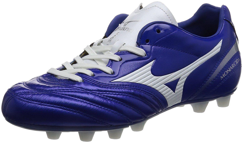 MIZUNO Soccer Football Spike Spike Football MONARCIDA 2 JAPAN P1GA1721 Blau Weiß US8(26cm) 651248