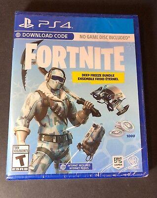 Fortnite Deep Freeze Bundle Ps4 New 883929662623 Ebay
