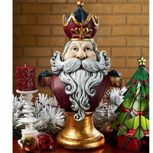 Design Toscano Santa Claus, King of the North Pole Holiday Statue