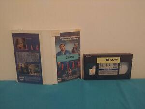Flag-VHS-tape-amp-case-RENTAL-FRENCH-NTSC