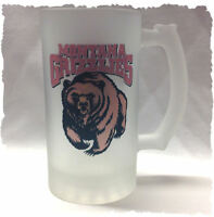University Of Montana grizzlies Frosted Beer Stein
