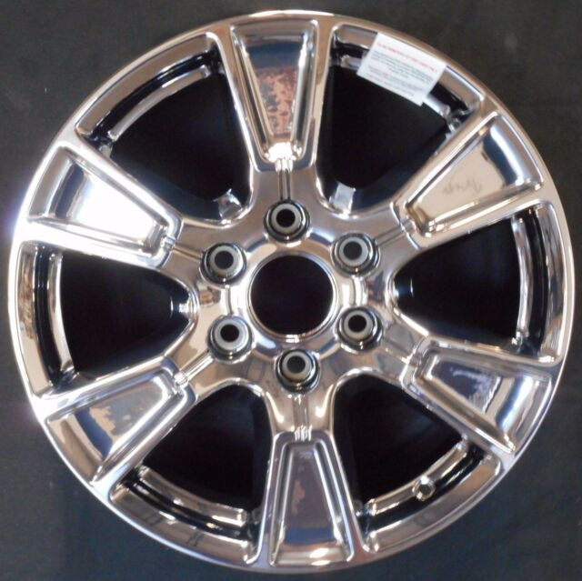 Ford F150 Factory Rims For Sale >> 2015 Ford F150 Factory Chrome 18 Inch Wheels 3998 For Sale Online Ebay