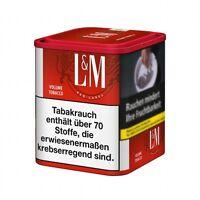 L&M Red Volumen 75 Gramm Zigarettentabak / Tabak