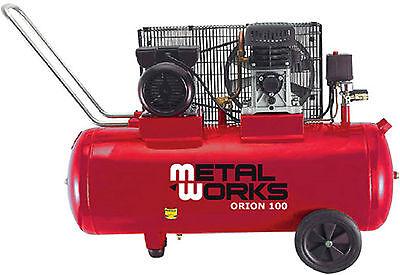 Compresor de aire 3 cv con depósito 100 litros