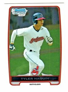 2012-Bowman-Chrome-Draft-Prospects-BDPP9-TYLER-NAQUIN-RC-Cleveland-Indians
