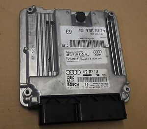 AUDI A6 C6 4F 2.0 TDI BPJ ENGINE CONTROL UNIT ECU 4F2907115 | eBay