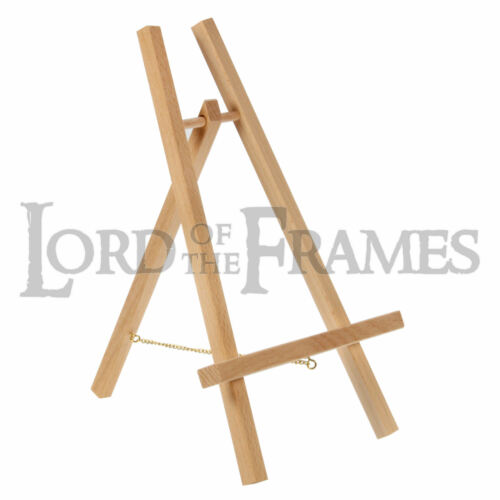 For pics up to 230mm menu painting photo sign BEECH WOOD DISPLAY EASEL STAND A
