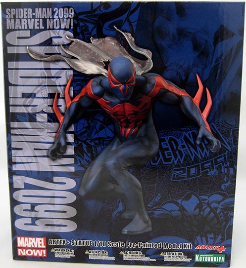 Marvel kotobukiya artfx + spider - man 2099 statue