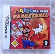 Nintendo DS - Mario Slam Basketball - USK 6 - 2006 - 2 bis 4 Spieler
