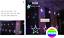 LED-Lichtervorhang-Weihnachtsbeleuchtung-Lichterkette-Licht-Fenster-Deko-Sterne