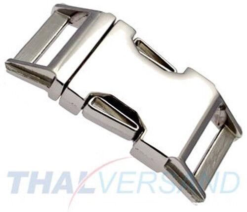 10 Stück Steckschnalle Steckverschluss 25mm Zinkdruckguss 3001 Steckschließer