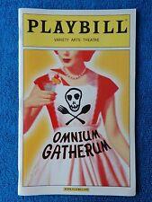Omnium Gatherum - Variety Arts Theatre Playbill - September 2003 - Jenny Bacon