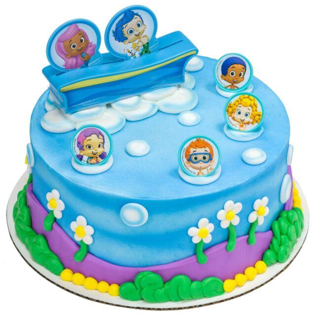 Miraculous Bubble Guppies Gil Edible Image Cake Topper Decoration Custom Personalised Birthday Cards Veneteletsinfo