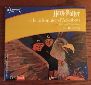 harry potter audiobook in french