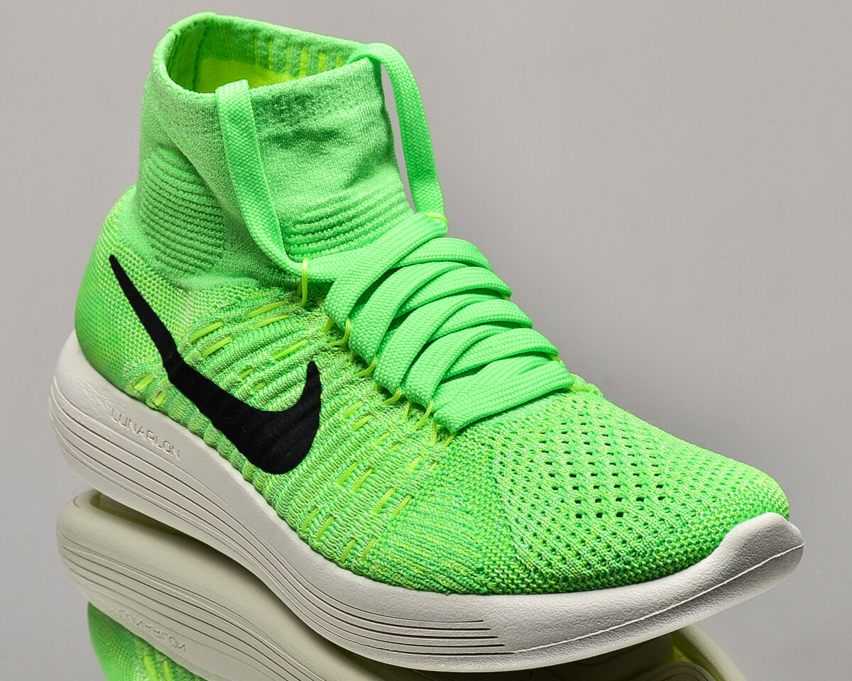 Nike WMNS Lunarepic Flyknit womens running run sneakers NEW voltage green