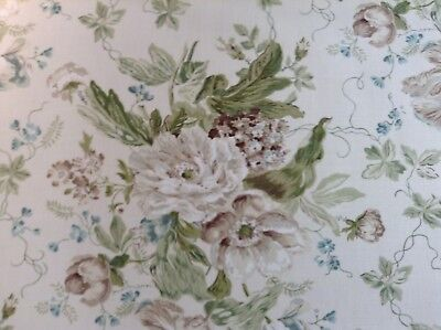 Alsace Floral Linen by Sanderson Designer Curtain Upholstery Craft Fabric