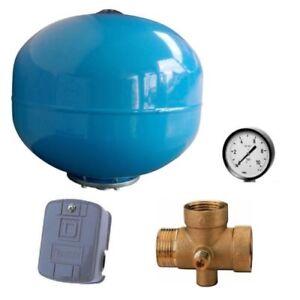 Kit-autoclave-completo-idrosfera-24lt-manometro-pressostato-attacco-5-vie
