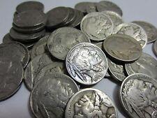 (20) FULL Date Buffalo Nickel Lot // Mixed Date+Mint // 1/2 Roll