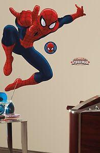 Image Is Loading ULTIMATE SPIDERMAN 53 034 Giant Wall Mural Vinyl