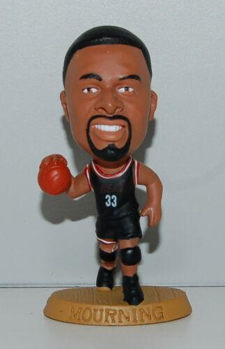 1996 Alonzo Mourning #33 Miami Heat Headliners Basketball Figure