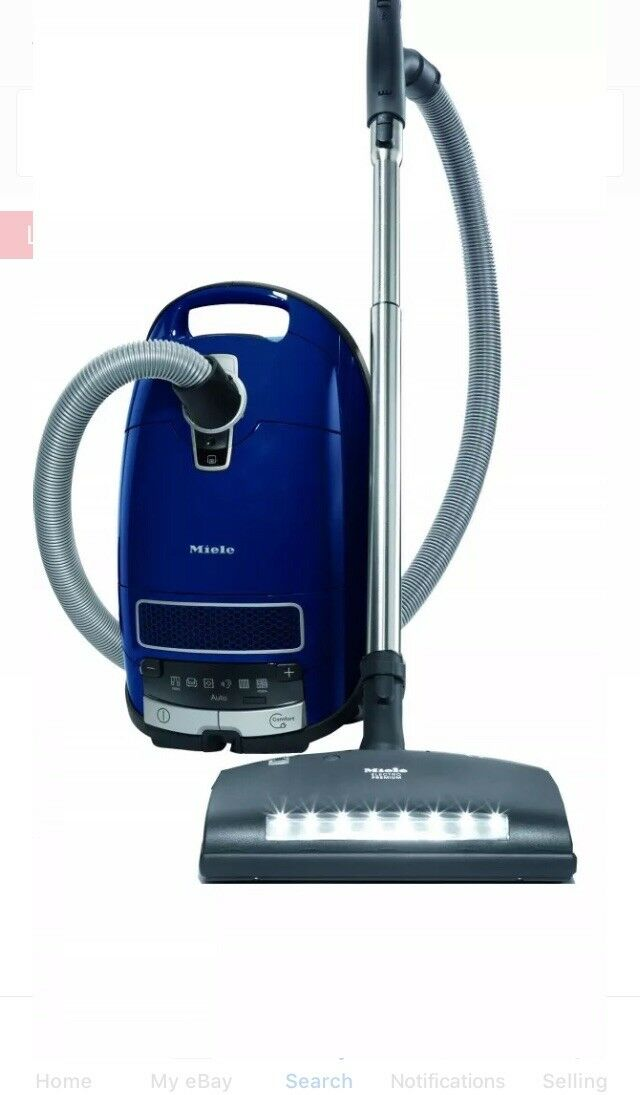 Miele Complete C3 Marin Canister Vacuum Cleaner Plus Bags Free Shipping