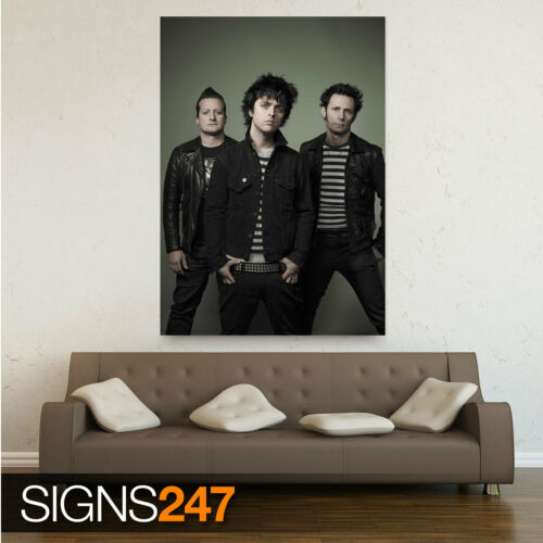 Photo Picture Poster Print Art A0 A1 A2 A3 A4 GREEN DAY BAND 1207