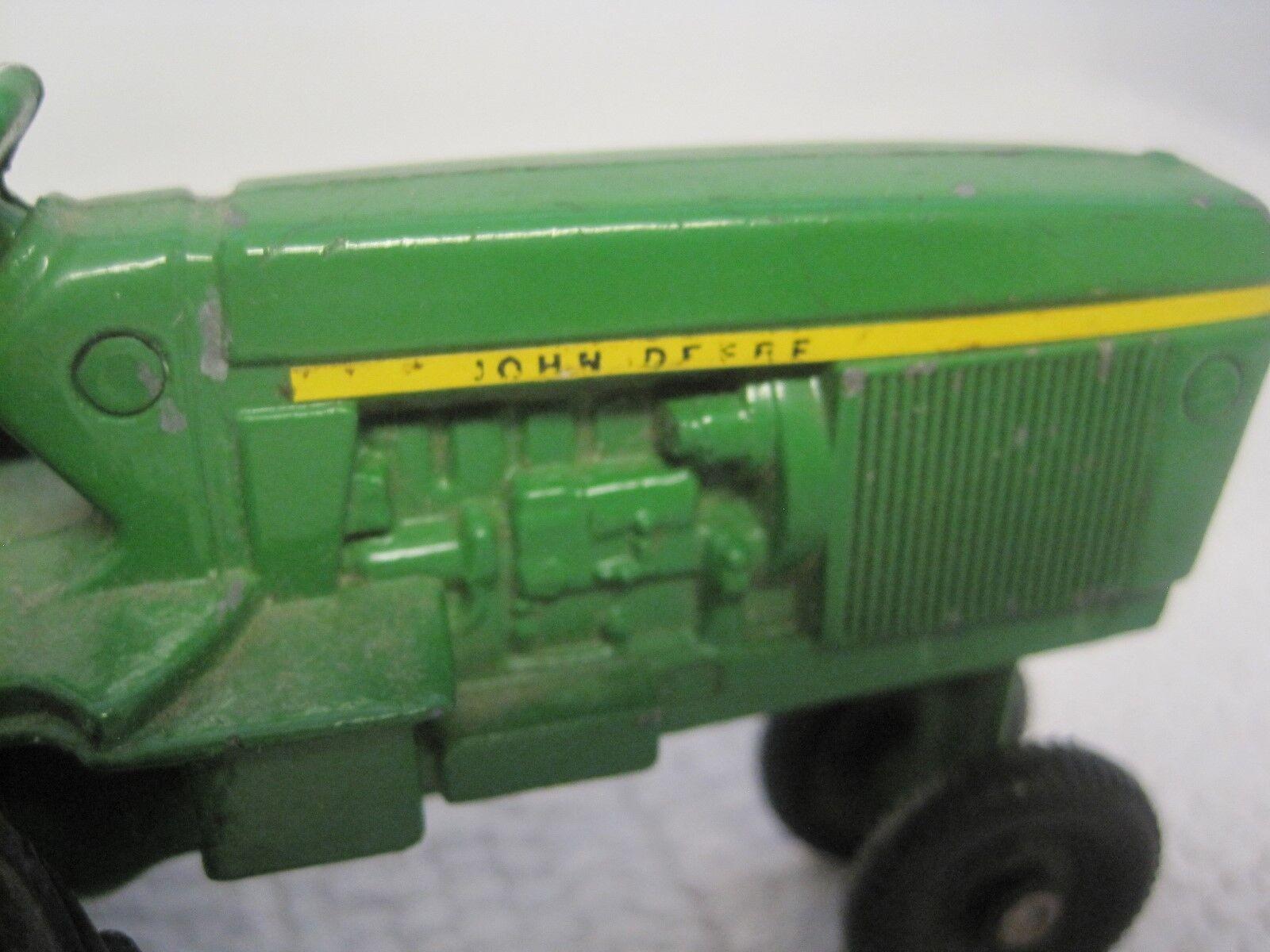 Vintage ERTL John Deere Deere Deere Narrow End High Draw Bar Tractor 1 32-USA-FAST SHIPPING  60c38b