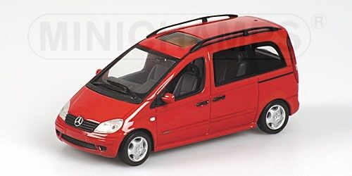 Mercedes Vaneo 2001 rouge 1 43 Model MINICHAMPS