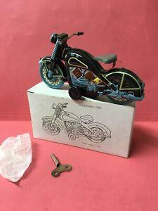 Blechspielzeug Motorrad Harley Davidson