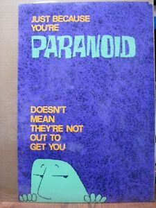 JUST-BECAUSE-YOU-039-RE-PARANOID-VINTAGE-MINI-POSTER-1970-039-S-NOT-OUT-TO-GET-CNG2377