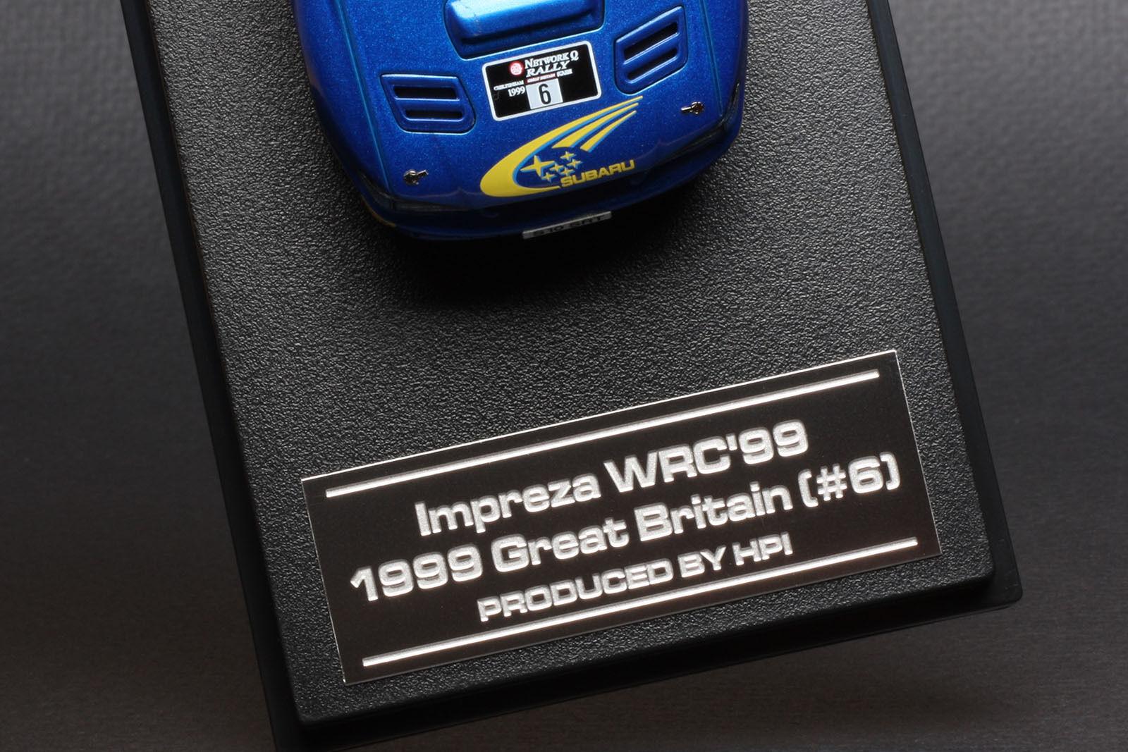Subaru Impreza Impreza Impreza Great Britain Rally Juha Kankkunen -- HPI  43 d09c82