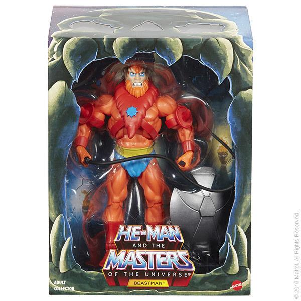 2016 los Amos del Universo Beastman Beast Man 2.0 los amos del universo clásicos Filmation Nuevo