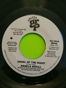 Angela-Bofill-Angel-Of-The-Night-7-034-45-RPM-Record-PROMO-Arista-1979