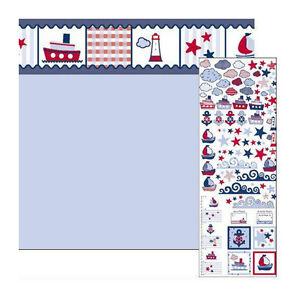 dolls-house-5833-Papier-peint-034-bord-de-mer-034-60X43-cm-bleu-clair-1-12