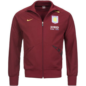 Aston Villa FC Nike Line Up Jacket Trainingsjacke Premier League 264448 AVFC neu