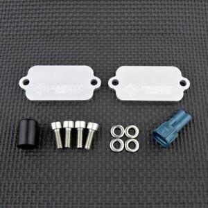Suzuki V-Strom 1000 SMOG Blanking Plates PAIR Eliminator Block Off DL1000 VSTROM