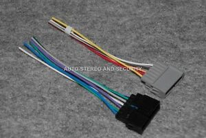 jeep radio wiring harness adapter for aftermarket radio installation rh ebay com aftermarket radio wiring harness adapter aftermarket radio wiring harness diagram