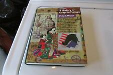 A History of Graphic Design by Philip B. Meggs (1998, Hardcover, Revised)