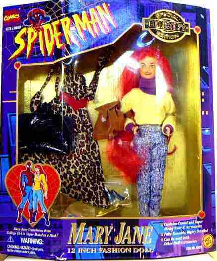 Spielzeug - biz marvel - comics spider - man - mary - jane besondere sammler puppe neue 995