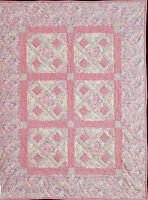 Arkansas Traveler Crib Patchwork Vintage Quilt Pattern