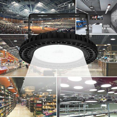 250W 6000K UFO LED High Bay Light Warehouse Industrial Factory Lighting Fixture