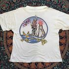 RARE Vintage IRON MAIDEN 1985 Hawaii Tour Concert T-Shirt Reprint USA Size