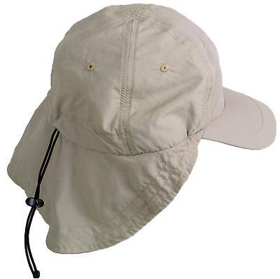 Legionärskappe Supplex Kappe Cap mit Nackenschutz Sonneschutz atmungsaktiv 73g
