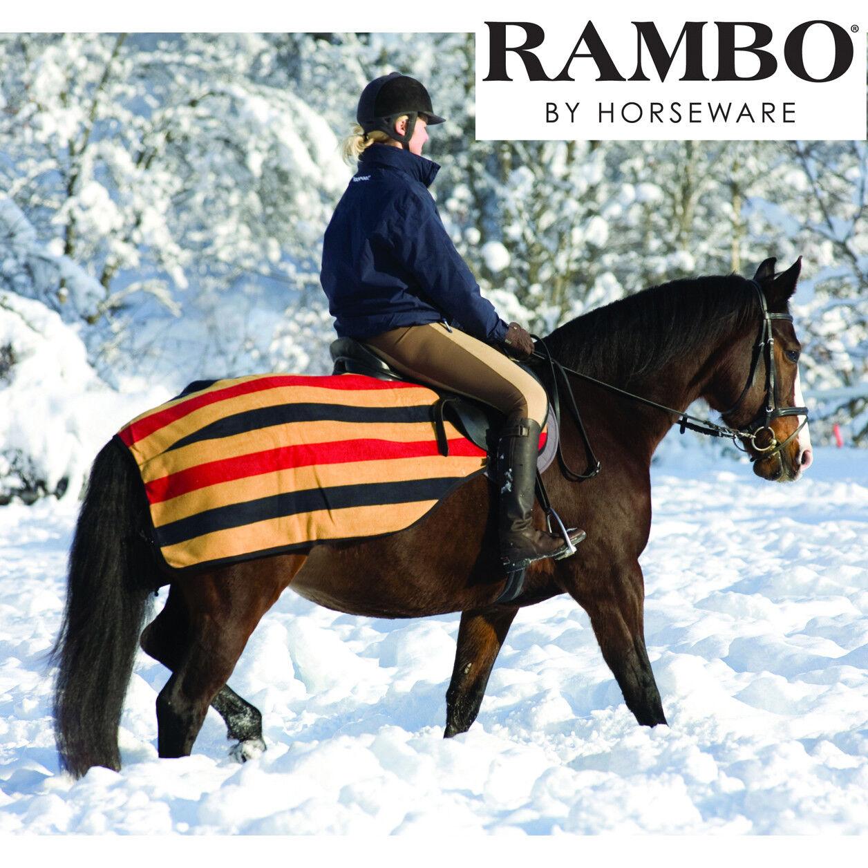Horseware Rambo Fleece Competition Exercise Sheet