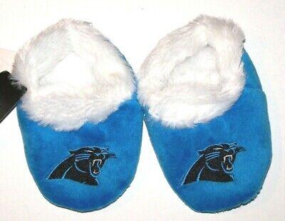 Carolina Panthers Logo Baby Bootie Slipper Large