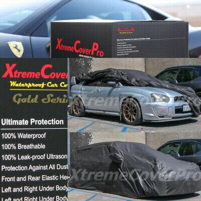 2004 2005 2006 2007 2008 2009 SUBARU IMPREZA SEDAN Waterproof Car Cover Grey